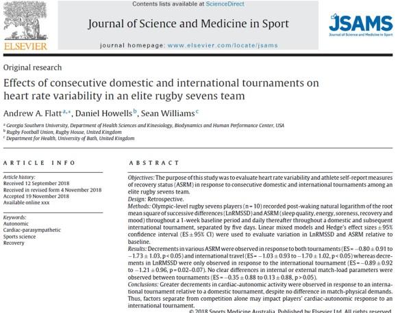 JSAMS title HRV rugby